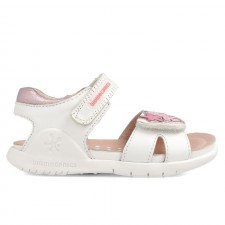 Leather sandals for girl Belinda
