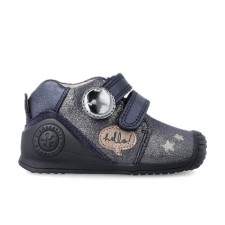 Leather ankle boot for baby Dania