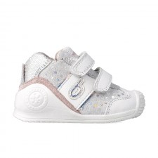 Leather trainers for baby Zur
